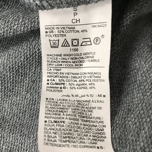 Old Navy Tops - Old Navy Active Gray Terry Sweatshirt Small :BN4